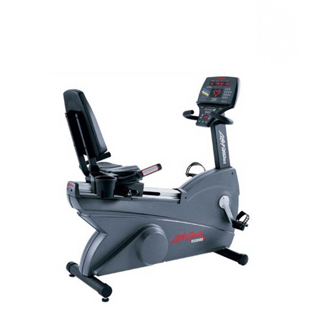 Велоергометър Life Fitness 9500H - тип легнал