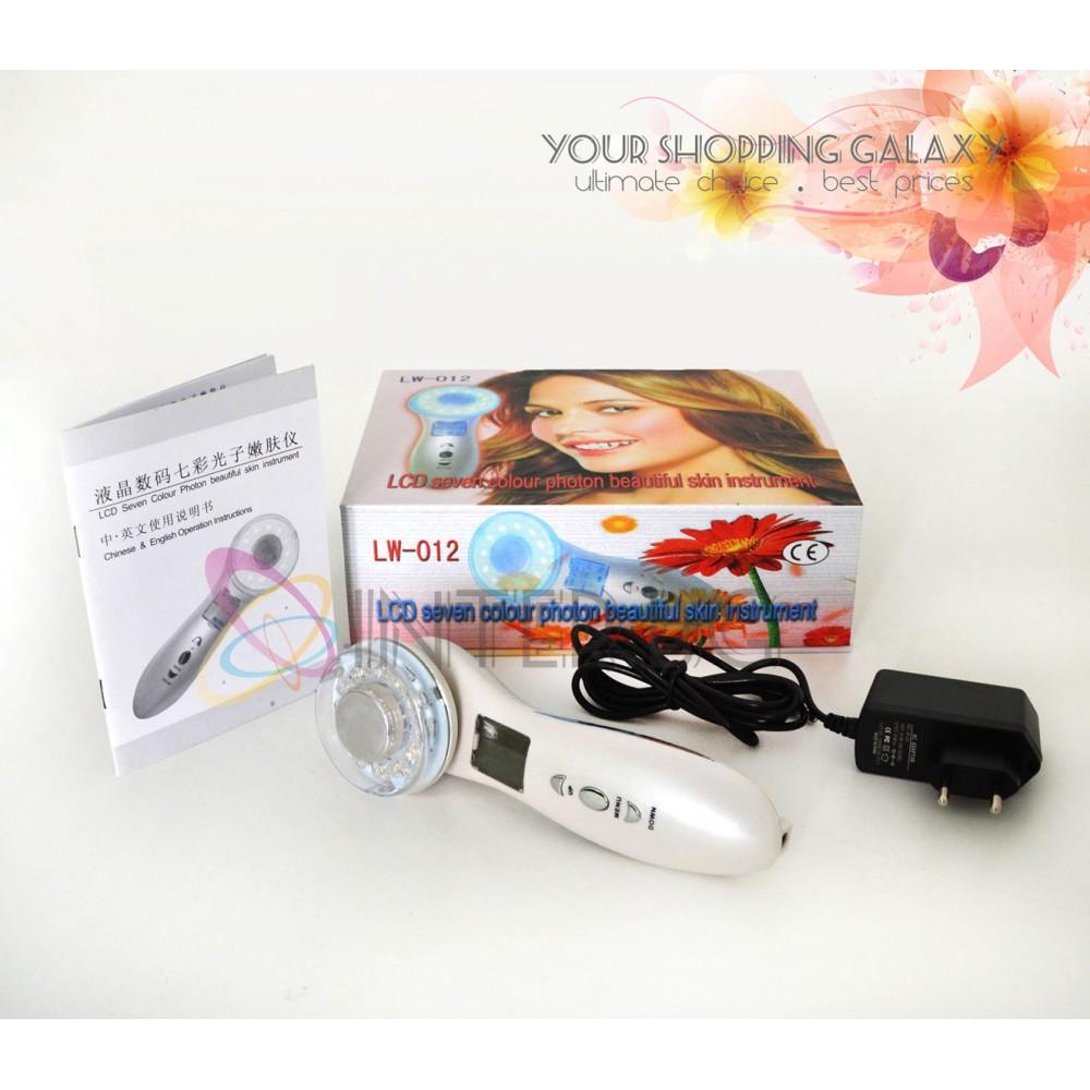 Преносим Козметичен уред за Фотон и Ултразвукова терапия 012